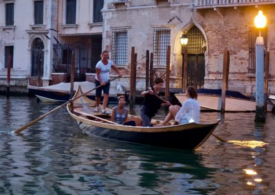 Evening Row in the Grand Canal