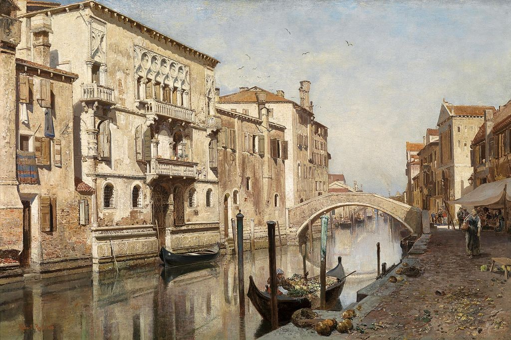 emplacement Row Venice, comme. 1800s
