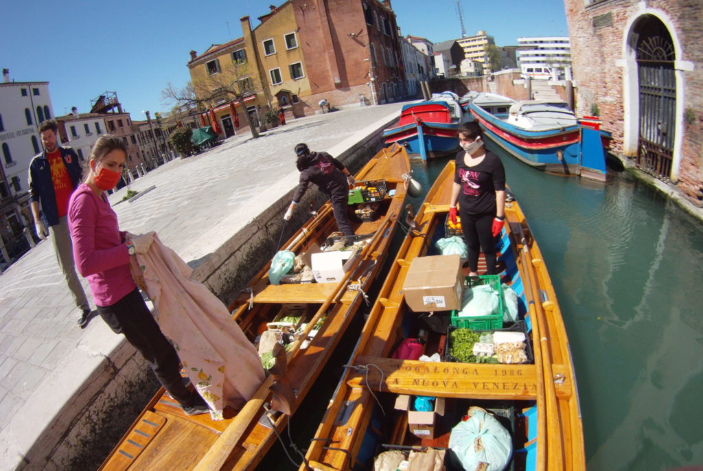 Row Venice delivers organic produce during the lockdown