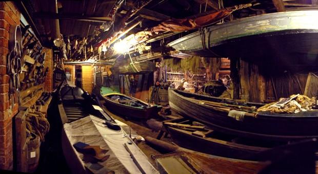 Squero Casal historic boatyard