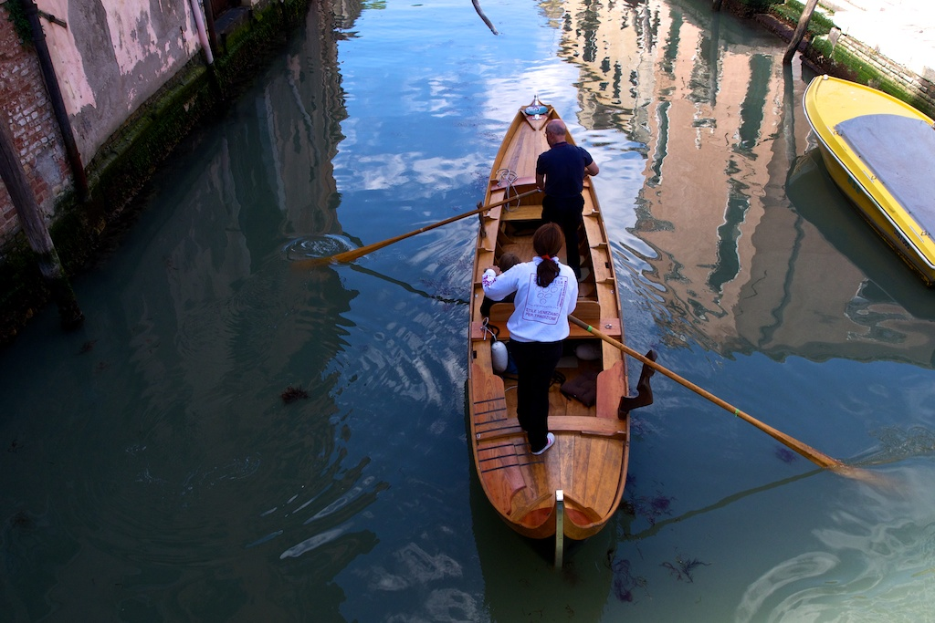 Row Venice batellina